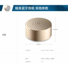 Promo New Xiaomi Mi Speaker Bluetooth Portable Mini Gold Akhir Tahun