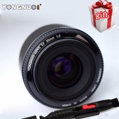 New YONGNUO 35mm Lensa YN35mm F2 Lensa 1:2 AF/MF Wide-Angle Fixed/Prime Auto Focus Lensa untuk Canon EF Gunung EOS Kamera-Intl