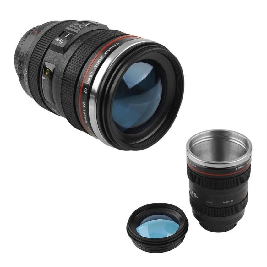 Harga Termurah Lensa Zoom Baru Cup Mug Ukuran Yang Sama Dengan Canon Ef 24 105Mm Untuk Teh Kopi Susu Air Intl