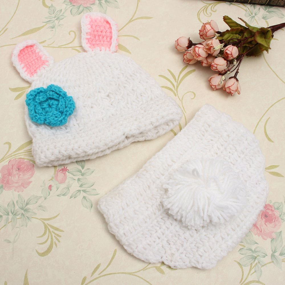 Spesifikasi Newborn Baby G*rl Boy Knit Clothes Photo Kostum Kostum Baju Kacang Intl