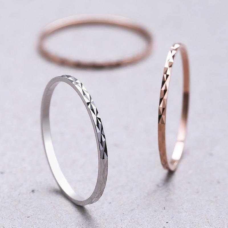 Terbaru 925 Sterling Perak Cincin Di Atas Buku Lingkaran Pesona Perhiasan Tali Midi Ukuran Cincin: 5-19 (Ukuran/Gaya: 18 ᆪᆲcolorᆪᄎrose Emas)-Internasional