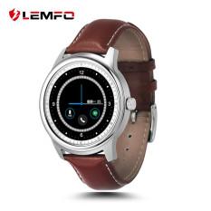 Terbaru Kedatangan Lem1 Smart Watch Smart Watch Wearable Perangkat Penuh HD IPS Layar Bluetooth Jam Tangan untuk Android IOS Mendukung Ibrani Perak