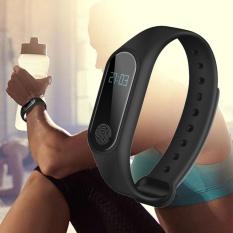 Toko Newworldmall Ponsel Terbaru Teknologi Kapal Gratis M2 Smart Watch Sport Gelang Denyut Jantung Darah Tekanan Memantau Detektor Internasional Oem Online