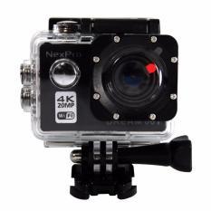 Diskon Nexpro Action Camera Dream 001 4K 20Mp Wifi Akhir Tahun