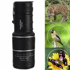 Bagus Adjustable 30X52 Mini Dual Fokus Optik Lensa Outdoor Tra-Intl