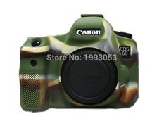 Harga Kamera Bagus Tas Video Untuk Canon 6D Silicone Case Rubber Canon Eos 6D Camera Case Pelindung Tubuh Cover Kulit Kamuflase Warna Oem Online