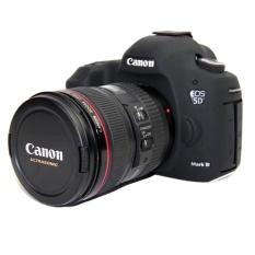 Silikon Lembut YANG BAGUS Karet Camera Case untuk Canon EOS 5D3 5DS 5DSR 5 DIII Tas Kamera DSLR-Intl