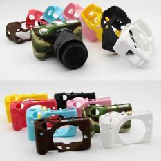 Silikon Lembut YANG BAGUS Karet Kamera Pelindung Case Penutup Tubuh Kulit Kamera untuk Canon EOS M3-Intl