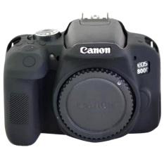 Silikon Lembut YANG BAGUS Karet Kamera Pelindung Case Penutup Tubuh Kulit Kamera Case Bag Tas Lensa untuk Canon EOS 800D- INTL