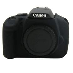 Silikon Lembut YANG BAGUS Karet Kamera Pelindung Tubuh Cover Case SkinFor Canon EOS 650D 700D Tas Kamera (Hitam) -Intl
