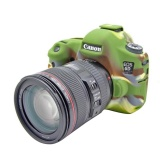 Dapatkan Segera Silikon Lembut Yang Bagus Karet Kamera Pelindung Case Penutup Tubuh Kulit Untuk Canon Eos 6D Tas Kamera Intl