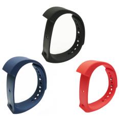 niceEshop 3 buah asli penggantian IWown I5 ditambah tali pengikat, Hitam Biru dan Merah
