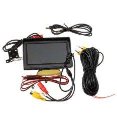 Harga Niceeshop 4 3 Inci Bantuan Monitor And Kamera Belakang With Pemandangan Kit Untuk Sistem Perkabelan Mobil Terbalik Tiongkok