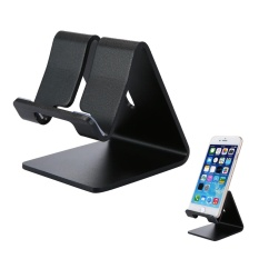 NiceEshop Adjustable Tablet Stand, Aluminium Multi-angle Dilipat Universal Stand Holder untuk IPhone/iPad/Tablet/Ponsel/Kindle/Macbook /laptop