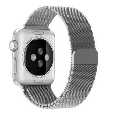 Harga Niceeshop Apple Watch Band Magnetic Mesh Loop Milanese Stainless Steel Penggantian Tali Untuk Apple Watch Sport Edition 42Mm Silver Intl Termahal