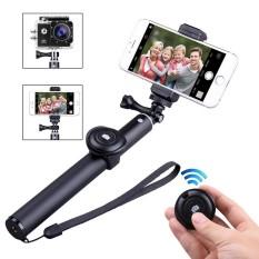 NiceEshop Bluetooth Selfie Stick Tripod dengan Remote untuk Kebanyakan Kamera, IOS Android Smartphone 3.5-6 Inch Layar-Intl