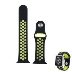 Jual Beli Niceeshop Fashionable Apple Watch Nike Sport Band 38Mm Lembut Silicone Penggantian Wrist Strap Untuk Apple Watch Seri 2 Intl Indonesia
