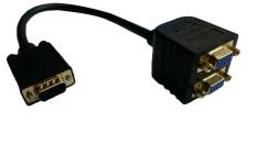 Berlapis Emas Vfa Hd15 Laki Laki Ke Perempuan X 2 1 Buah For 2 Monitor For Kabel Splitter Video Resolusi Tinggi 1920X1440 Hitam Niceeshop Niceeshop Diskon 40