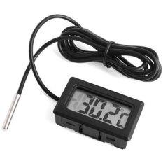 NiceEshop LCD Digital Termometer untuk Lemari Es Freezer Kulkas