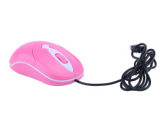 Toko Niceeshop Pink Wired Usb Optical Compact Scroll Wheel Mouse For Pc Laptop Terdekat