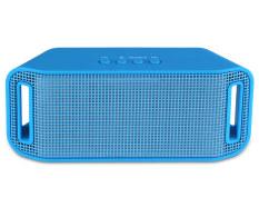 Niceeshop Memimpin Portabel Bluetooth Nirkabel Untuk Smartphone Dan Tablet Pembicara Biru Original