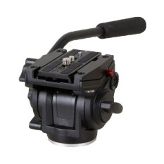 NiceEshop Quickrelease Plate Pro Fluid Video Mini Head untuk Manfrotto Tripod (Hitam)