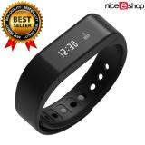 Diskon Niceeshop Smart Gelang Bluetooth 4 Tahan Air Krida Pelacak Smartband Hitam International Indonesia