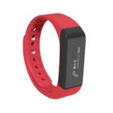 Beli Niceeshop Smart Gelang Bluetooth 4 Tahan Air Krida Pelacak Smartband Merah Online Terpercaya