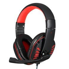 Beli Niceeshop Soyto 755 3 5Mm Headset Headphone Gaming Headphone Earphone Headband Dengan Mikrofon Led Light Untuk Laptop Hitam Yang Bagus