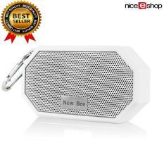 Jual Niceeshop Bluetooth Pengadaan 4 Tahan Air Pancuran Luar Ruangan Pembicara With Mikrofon Putih Niceeshop Grosir