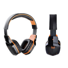 Promo Niceeshop Bluetooth Nirkabel 4 1 Headphone Stereo Gaming Headset With Mikrofon Hitam Oranye Murah