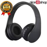 Tips Beli Niceeshop Bluetooth Nirkabel Stereo Headphone Rops Edr Alat Pendengar Mikrofon Mp3 Fm Headset Untuk Ponsel Pintar Tablet Hitam
