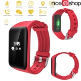 Harga Niceeshopfitness Tracker Bluetooth Activity Tracker Heart Rate Monitor Ip68 Smart Bracelet Fitness Wristband Watch With Sleep Monitor Pedometer Calls Calories Counter For Ios Android Smartphones Intl Origin