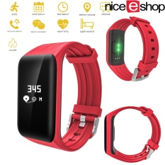Niceeshopfitness Tracker Bluetooth Activity Tracker Heart Rate Monitor Ip68 Smart Bracelet Fitness Wristband Watch With Sleep Monitor Pedometer Calls Calories Counter For Ios Android Smartphones Intl Di Indonesia