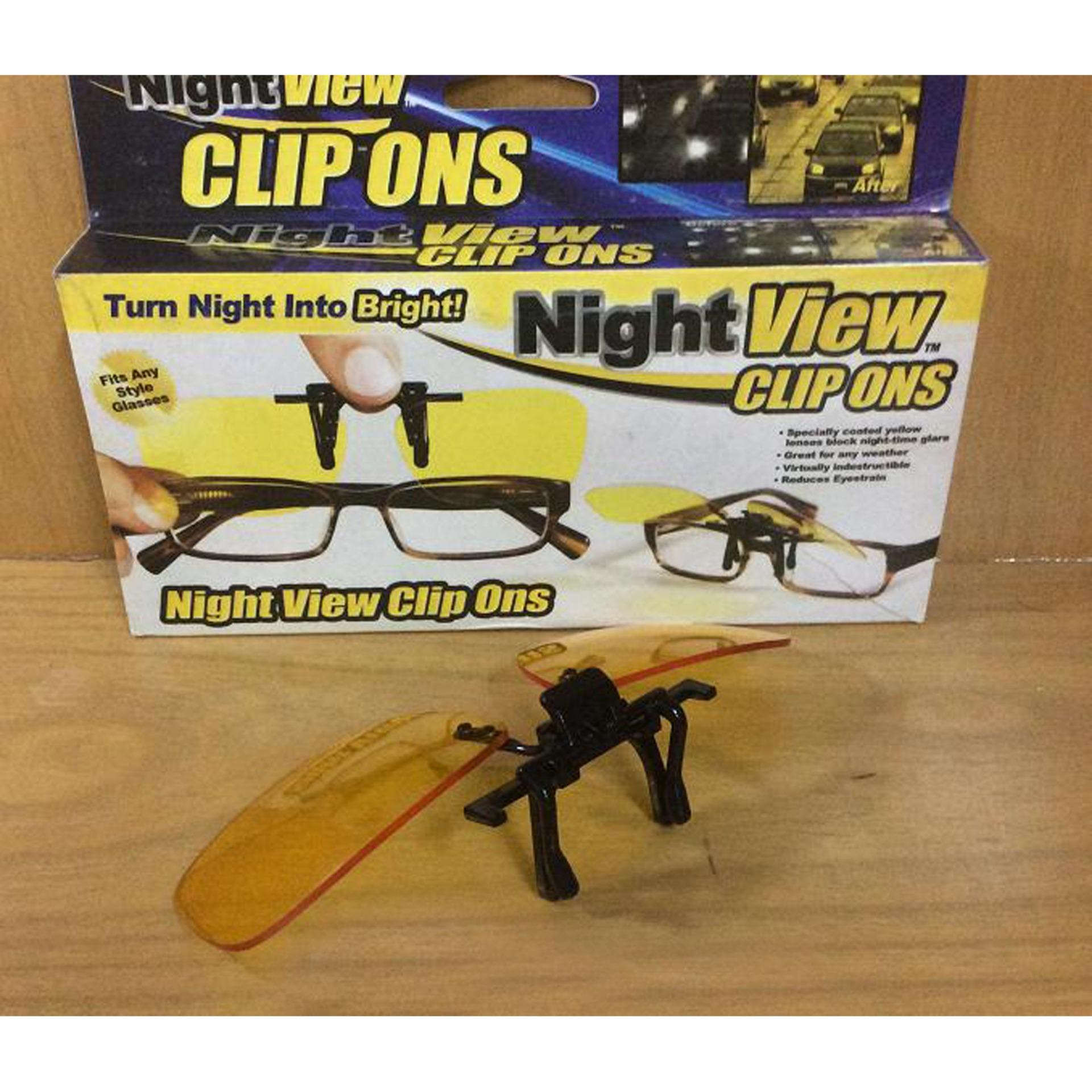 Beli Night View Clip On Kacamata Anti Silau Online