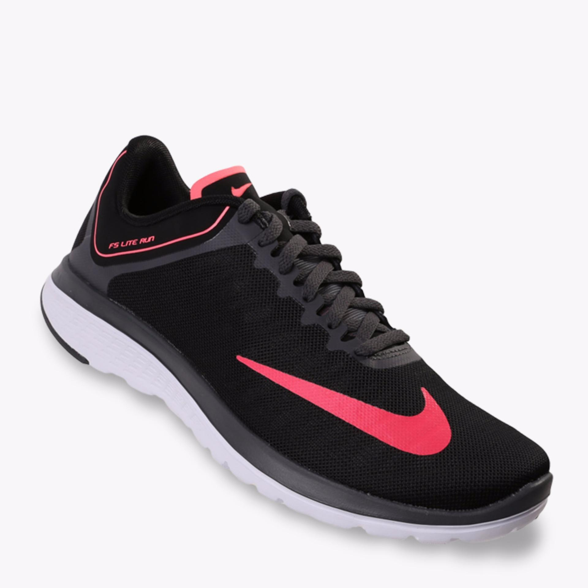 Harga Nike Fs Lite Run 4 Women S Running Shoes Hitam Asli Nike