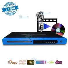 Niko DVD Player Multimedia USB NK-189X - Biru