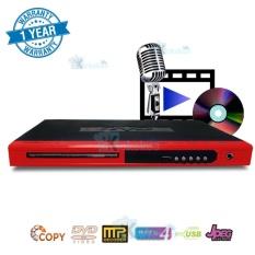 Niko DVD Player Multimedia USB NK-189X - Merah