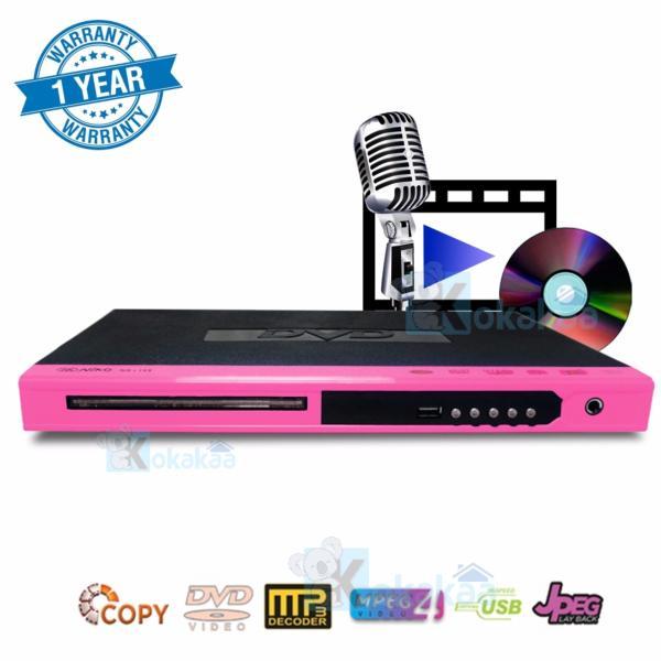 Niko Alat Pemutar DVD Player MP4 NK-189X - Pink