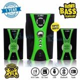 Toko Niko Slank Speaker Super Woofer Bomb Bass Technology Pengeras Suara Bluetooth Nk M2Bx Hijau Lengkap Dki Jakarta