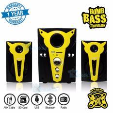 Beli Niko Slank Speaker Super Woofer Bomb Bass Technology Pengeras Suara Bluetooth Nk S2Bx Kuning Niko Online