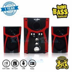 Perbandingan Harga Niko Slank Speaker Super Woofer Bomb Bass Technology Pengeras Suara Nk S1X Merah Niko Di Indonesia