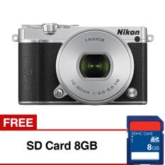 Jual Nikon 1 J5 10 30Mm Vr Kit 20 8 Mp Silver Gratis Sd Card 8Gb Nikon Branded