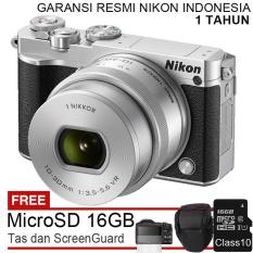 Nikon 1 J5 - 20,8 MP + Lensa 10-30mm + Free MicroSD 16GB  + Tas + Screenguard