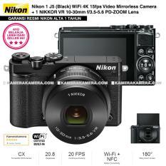 NIKON 1 J5 (BLACK) WiFi 4K Mirrorless Camera VR 10-30mm Lens - Resmi Nikon Alta