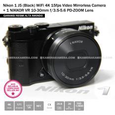 NIKON 1 J5 WiFi 4K 15fps Video Mirrorless Camera + 1 NIKKOR VR 10-30mm f/3.5-5.6 PD-ZOOM Lens (Garansi Resmi Alta Nikindo)