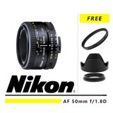 Jual Nikon Af 50Mm F 1 8D Gratis Uv Filter Lenshood Att 52Mm Ori