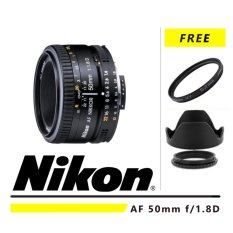 Model Nikon Af 50Mm F 1 8D Gratis Uv Filter Lenshood Att 52Mm Terbaru