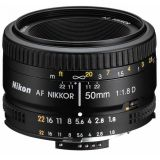 Jual Nikon Af 50Mm F 1 8D Nikkor Lens Hitam Branded