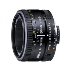 Nikon AF FX Nikkor 50 Mm F/1.8D Lensa untuk Nikon DSLR Kamera-Internasional